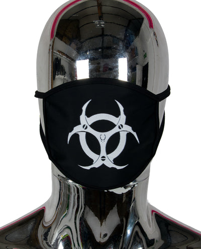PRINTED MASK RADIOACTIVE by Cyberdog - Rave clothing, festival fashion & clubwear.
