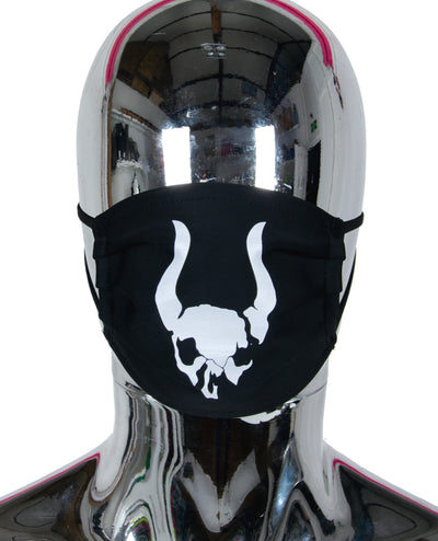 PRINTED MASK SKULL LOGO by Cyberdog - Rave clothing, festival fashion & clubwear.