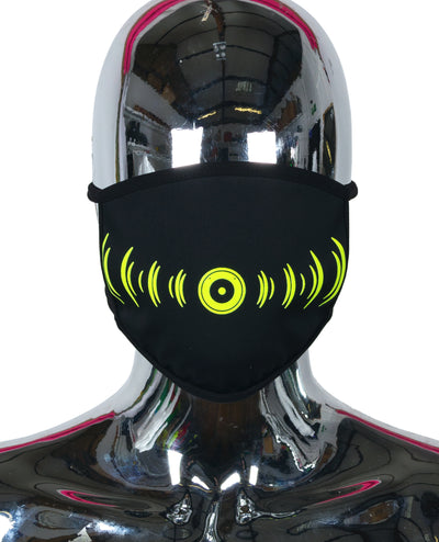 PRINTED MASK SMILEY BOOM by Cyberdog - Rave clothing, festival fashion & clubwear.