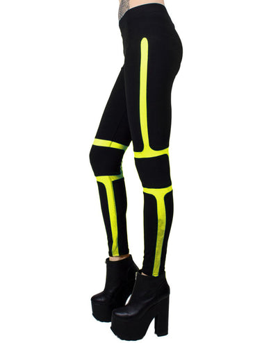 PROTECTION LEGGING by Cyberdog - Rave clothing, festival fashion & clubwear.