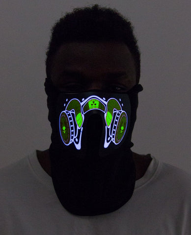 CYBERDOG RADIOACTIVE MASK