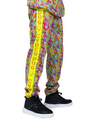 OVERSIZE RAVEMEN JOGGER by Cyberdog - Rave clothing, festival fashion & clubwear.