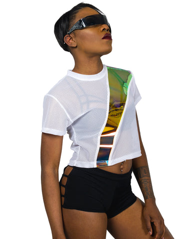 RAY AIRTEX CROP TOP