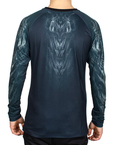 MENS L/S DIGITAL REPTILIA