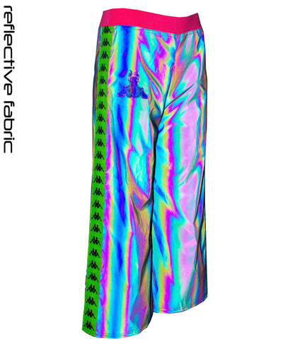 RIB FLARE RAINBOW by Cyberdog - Rave clothing, festival fashion & clubwear.