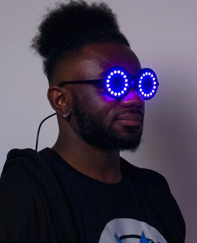 SATURN LIGHT UP GLASSES