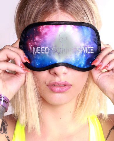 NEED SOME SPACE SLEEP MASK