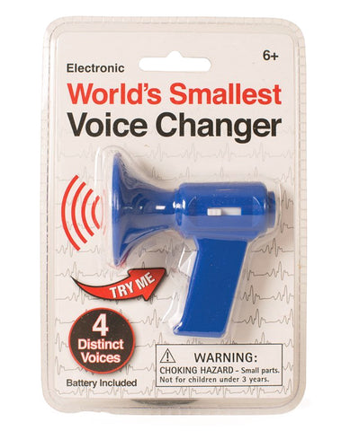 SMALLEST VOICE CHANGER