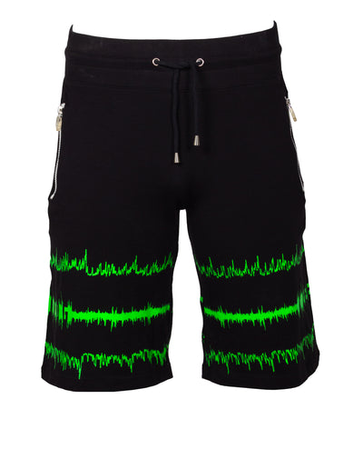 SOUNDWAVE BASKETBALL SHORTS by Cyberdog - Rave clothing, festival fashion & clubwear.