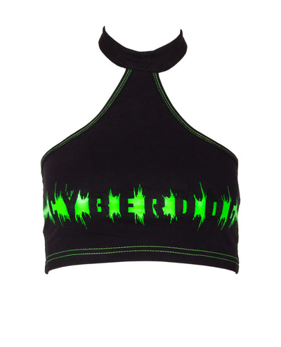 RIB HALTER VEST SOUNDWAVE by Cyberdog - Rave clothing, festival fashion & clubwear.