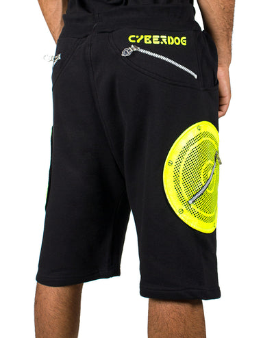 SPHERE SHORTS by Cyberdog - Rave clothing, festival fashion & clubwear.