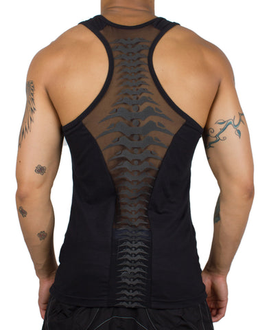 MENS SPINED MESH VEST
