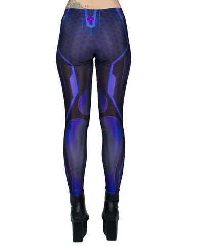 SUBSONIC LEGGINGS PURPLE WEB