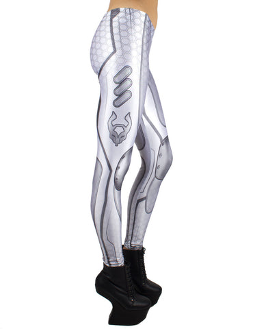 SUBSONIC LEGGINGS WHITE WEB