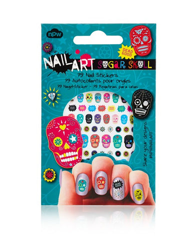 SUGAR SKULL NAIL ART STICKER