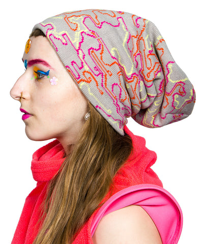 SUPERSIZE MICROCAMO BEANIE