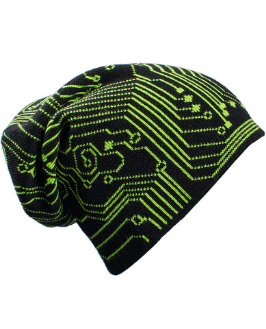 SUPERSIZE MICROCHIP BEANIE