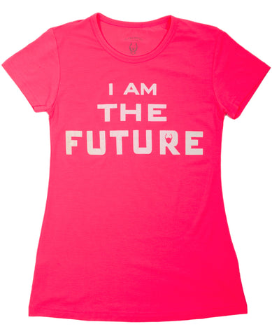 KIDS T DRESS I AM THE FUTURE