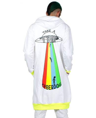 LONG ZIP HOODIE TAKE A TRIP