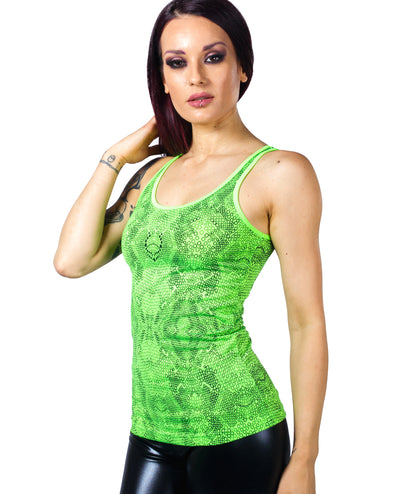 WOMENS VEST CYBERSKIN by Cyberdog - Rave clothing, festival fashion & clubwear.