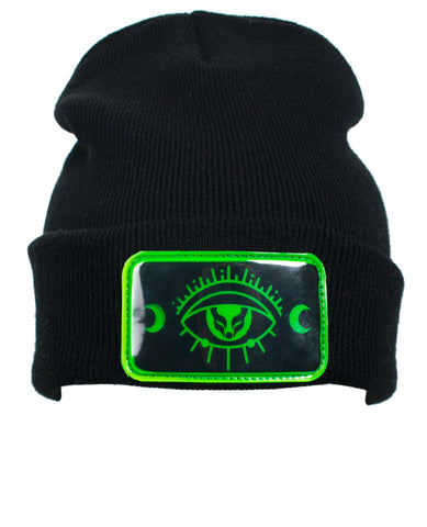 THIRD EYE FOLDED BEANIE