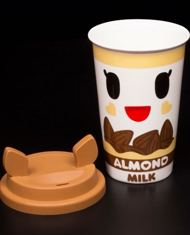 TOKIDOKI TRAVEL MUG ALMONDINA