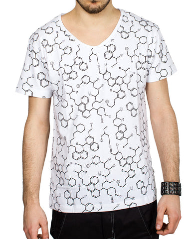 MENS LOW V NECK ANTIMATTER