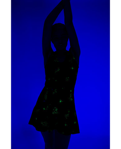CONSTELLATION FLARE DRESS