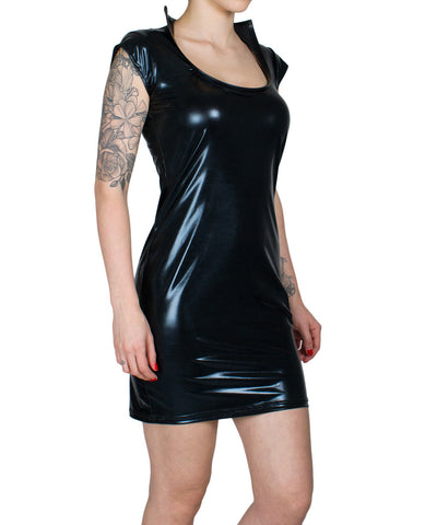 XXX ENTRAPMENT PENCIL DRESS