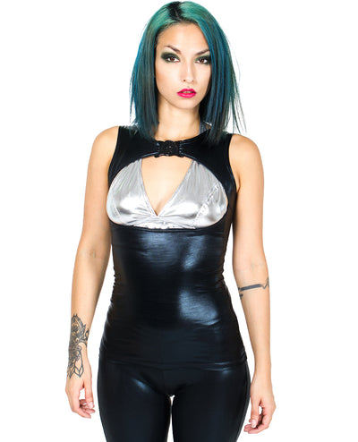 XXX EXPOSURE VEST by Cyberdog - Rave clothing, festival fashion & clubwear.