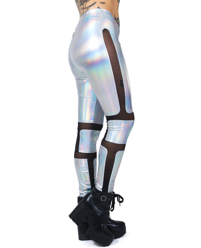 XXX PROTECTION LEGGINGS by Cyberdog - Rave clothing, festival fashion & clubwear.