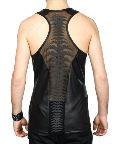 XXX MENS SPINED MESH VEST