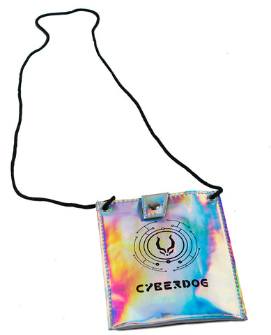 HOLOGRAPHIC CLUB BAG