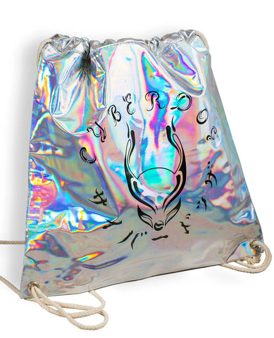 HOLOGRAPHIC DRAW STRING BAG