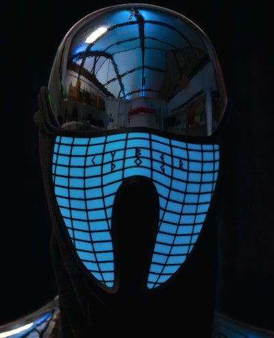 CYBERDOG EQUALIZER MASK by Cyberdog - Rave clothing, festival fashion & clubwear.