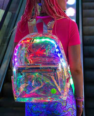 LIGHT UP BACKPACK
