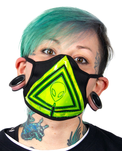 ALIEN MASK by Cyberdog - Rave clothing, festival fashion & clubwear.