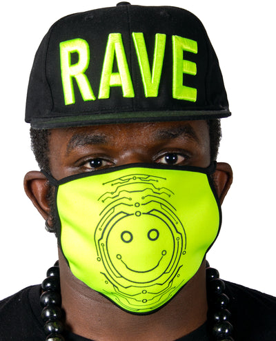 PRINTED MASK TECFACE by Cyberdog - Rave clothing, festival fashion & clubwear.