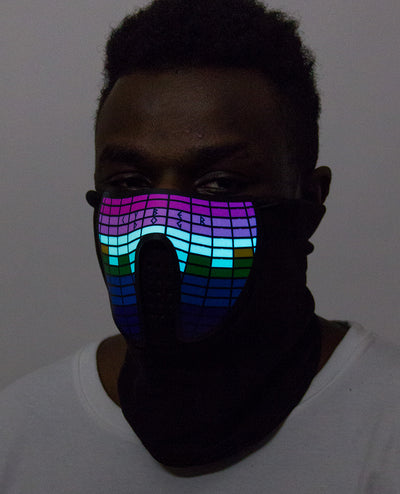 CYBERDOG MULTICOLOUR MASK by Cyberdog - Rave clothing, festival fashion & clubwear.