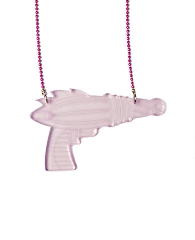 RAYGUN PERSPEX NECKLACE