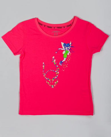 KIDS GIRL S/S SPACE FAIRY