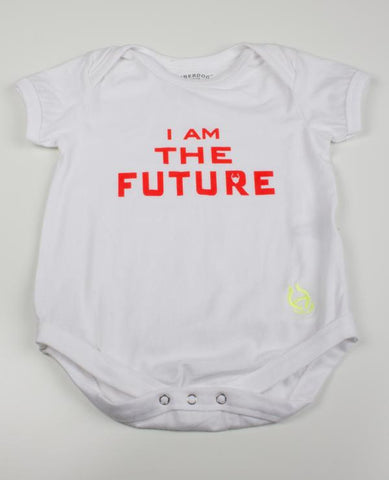 BABY GROW I AM THE FUTURE