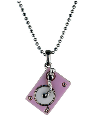 BLING TURNTABLE PENDANT