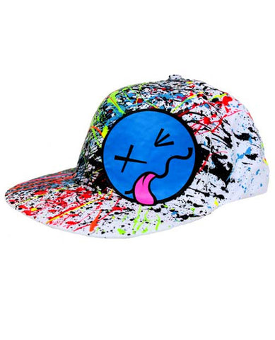 TONGUE SMILEY CAP