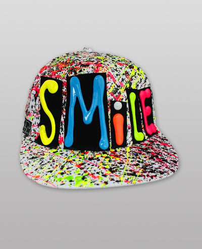 SMILE LOGO CAP by Cyberdog - Rave clothing, festival fashion & clubwear.