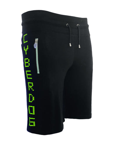 RAVE NEW WORLD BASKETBALL SHORTS by Cyberdog - Rave clothing, festival fashion & clubwear.