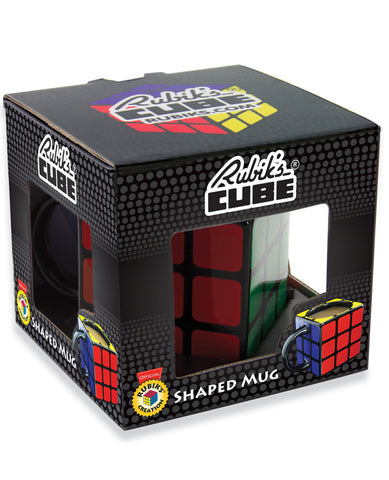 RUBIKS CUBE SHAPED MUG