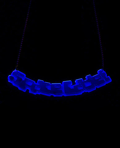 SPACE CADET PERSPEX NECKLACE
