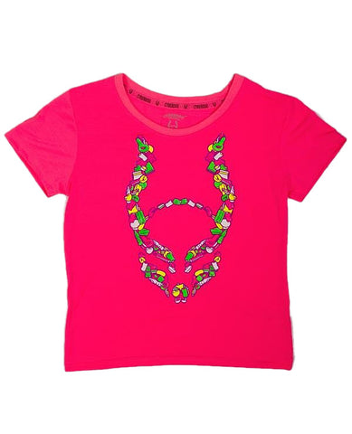 KIDS GIRL S/S SWEETS LOGO
