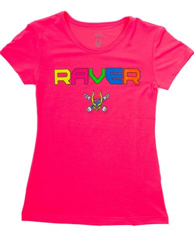 KIDS T DRESS RAVER LOGO